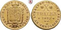10 Taler 1805 Braunschweig Braunschweig-Wo...