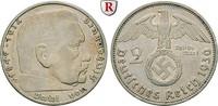 2 Reichsmark 1936 E Klein- und Kursmünzen 2 Reichsmark 1936, E. Hindenb... 25,00 EUR  +  10,00 EUR shipping
