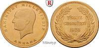 100 Piaster 1943-1981 Türkei 7,2160 g vz  313,00 EUR  +  10,00 EUR shipping