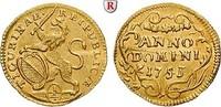 1/4 Dukat 1753 Schweiz Zürich, Gold, 0,86 g vz, Druckstelle und Schrötl... 470,00 EUR  zzgl. 6,50 EUR Versand