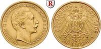 20 Mark 1906 A Preussen Wilhelm II., 1888-1918, 20 Mark 1906, A. Gold. ... 340,00 EUR  +  10,00 EUR shipping