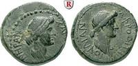 Bronze  Mysien Pergamon, Livia, Frau des A...