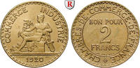 2 Francs 1920 Frankreich III. Republik, 18...