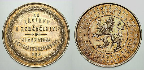 Böhmen-Medaillen vorzüglich - Stempelglanz