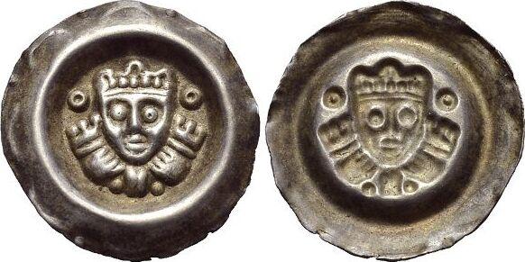 Brakteat 1268-1294 Schongau Ludwig II. von Bayern 1268-1294. Schöne Patina, vorzüglich