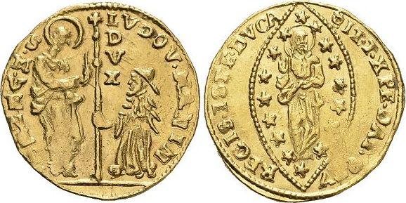1789-1797 Italien-Venedig Ludovico Mani 1789-1797. Min.Prägeschwäche, fast vorzüglich