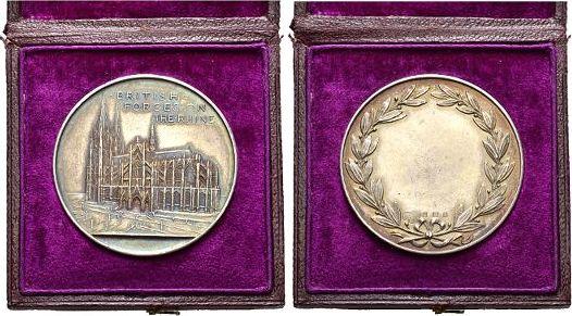 Medaille um 1920 Köln-Stadt - Medaillen Original-Etui(min.beschädigt), selten, vorzüglich