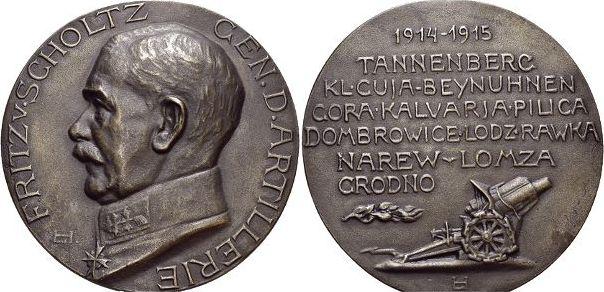 Medaille 1915 Erster Weltkrieg vorzüglich