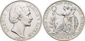Siegestaler 1871 Bayern Ludwig II. 1864-1886. Winz.Rf., vorzüglich - Stempelglanz