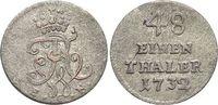 Brandenburg-Preussen 1/48 Taler Friedrich Wilhelm I. - der Soldatenkönig 1713-1740.