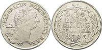Brandenburg-Preussen 1/3 Taler Friedrich II. 1740-1786, Münzstätte Breslau.