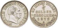 Brandenburg-Preussen 1/2 Silbergroschen Wilhelm I. 1861-1888.