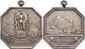 Württemberg-Stuttgart, Stadt Achteckige AR-Medaille