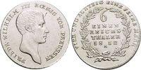 Brandenburg-Preussen 1/6 Taler Friedrich Wilhelm III. 1797-1840.