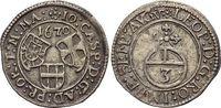 3 Kreuzer 1670 Deutscher Orden Johann Caspar von Ampringen 1664-1684. M... 59,00 EUR  plus 5,00 EUR verzending