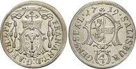 Salzburg-Erzbistum 4 Kreuzer(Batzen) Franz Anton von Harrach 1709-1727.