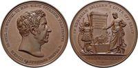Brandenburg-Preussen - Personenmedaillen Bronze-Medaille Wiebel, Johann Wilhelm von *1767 +1847, Preussischer Generalstabarzt.
