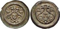 Magdeburg-Erzbistum Brakteat Wilbrand von Käfernburg 1235-1254.