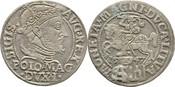Groschen 1547 Polen Litauen Sigismund August, 1545-1572 ss+
