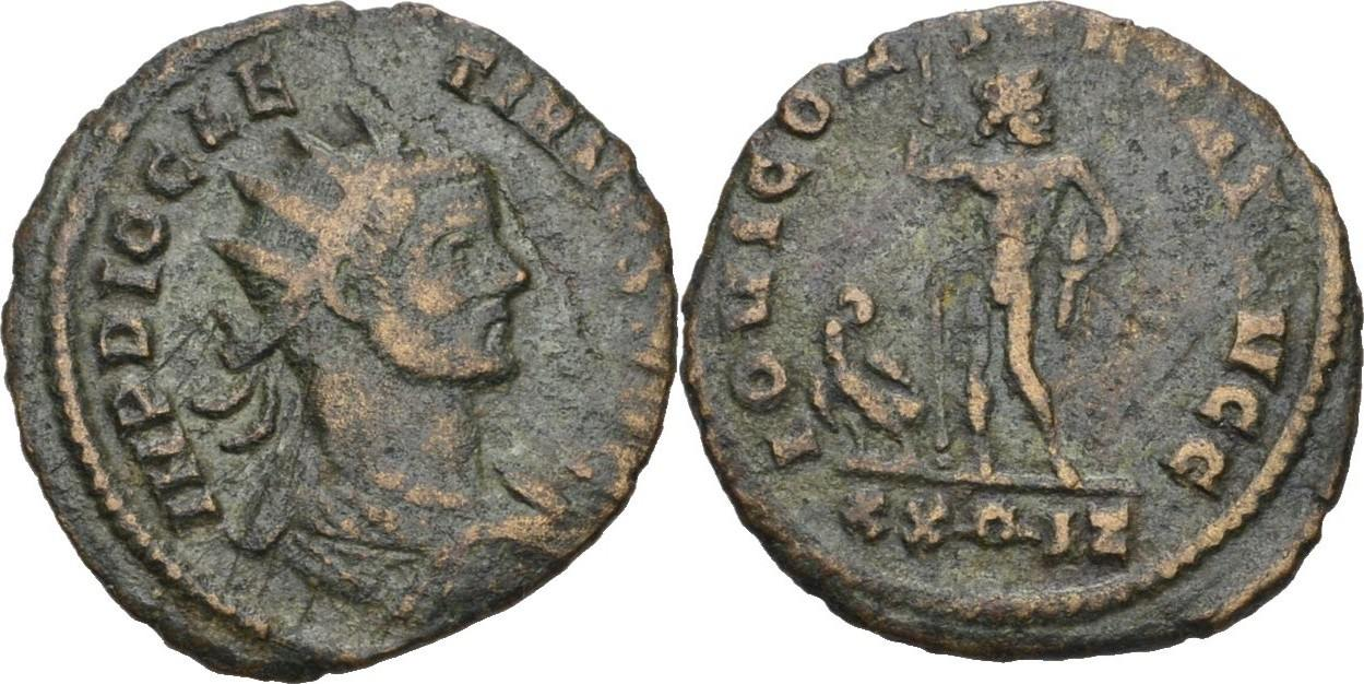 RÖMISCHE KAISERZEIT Antoninian 285 Diocletian, 284-305