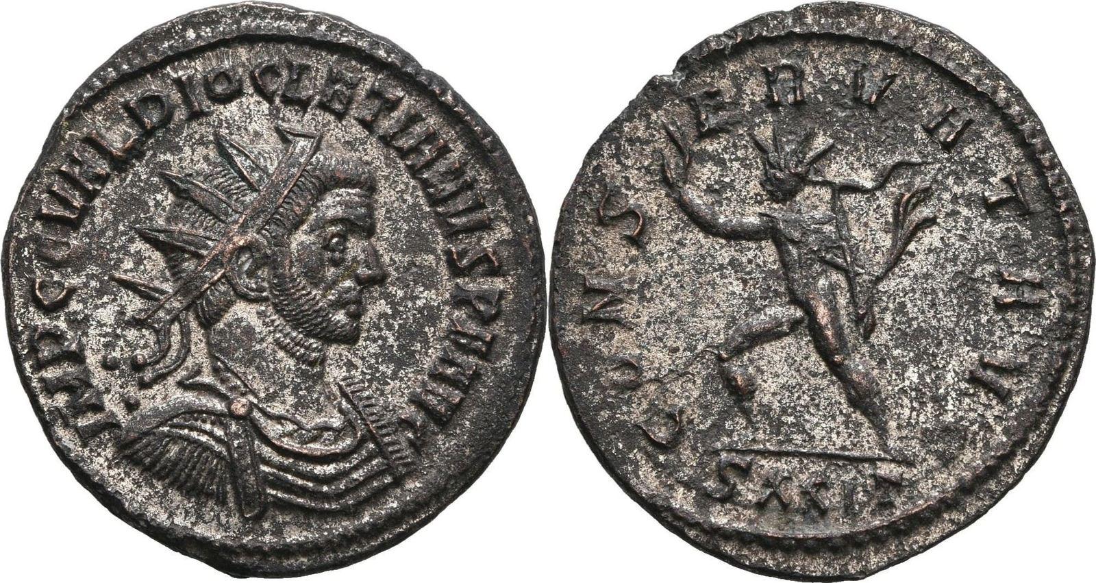 RÖMISCHE KAISERZEIT Antoninian 285-286 Diocletian, 284-305