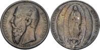 Medaille 1865 Mexico  Henkelspur, geglättet, ss  100,00 EUR  +  3,00 EUR shipping