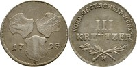 III Kreuzer 1793 RDR Günzburg Burgau Franz II./I., 1792-1835 ss  70,00 EUR  +  3,00 EUR shipping