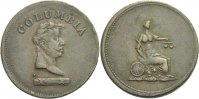 Columbia Farthing Token 1800 - 1880 Canada  ss  35,00 EUR  +  3,00 EUR shipping