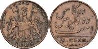 British Indien Madras 10 Cash