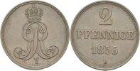Hannover 2 Pfennig Georg V.