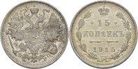 Russland 15 Kopeken Nikolaus II.