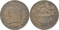 1/2 Cent 1826 USA  ss  85,00 EUR  +  3,00 EUR shipping