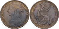 Grossbritannien Penny Victoria, 1837-1901