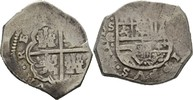 Spanien Mexico 4 Reales Philipp II. bis Philipp IV., 1556-1665