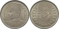 Ägypten 5 Piaster Farouk, 1936-52