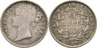 Britisch Indien 1/4 Rupie Victoria, 1837-1901