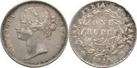 Britisch Indien 1 Rupie Victoria, 1837-1901