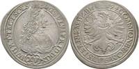 Schlesien Württemberg Öls XV Kreuzer Sylvius Friedrich, 1664-1697