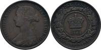 1 Cent 1864 Kanada - Neubraunschweig Victoria, 1837-1901 ss Kratzer  15,00 EUR  +  3,00 EUR shipping