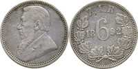 6 Pence 1892 Südafrika  ss  70,00 EUR  +  3,00 EUR shipping