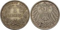 1 Mark 1910 D Kaiserreich Wilhelm II., 1888-1918 vz+  20,00 EUR  +  3,00 EUR shipping