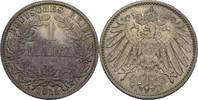 1 Mark 1915 A Kaiserreich Wilhelm II., 1888-1918 vz+  10,00 EUR  +  3,00 EUR shipping