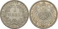 1 Mark 1914 A Kaiserreich Wilhelm II., 1888-1918 vz+  9,00 EUR  +  3,00 EUR shipping