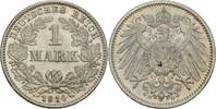 1 Mark 1914 G Kaiserreich Wilhelm II., 1888-1918 fast Stempelglanz  10,00 EUR  +  3,00 EUR shipping