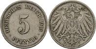 5 Pfennig 1913 J Kaiserreich Wilhelm II., 1888-1918 ss  25,00 EUR  +  3,00 EUR shipping