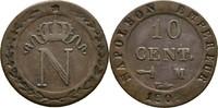 10 Centimes 1808 Frankreich Toulouse Napoleon I., 1804-1815   30,00 EUR  +  3,00 EUR shipping