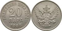 20 Para 1908 Montenegro  vz  15,00 EUR  +  3,00 EUR shipping