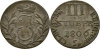 3 Stüber 1806 Jülich Kleve Berg Joachim, 1806-1808 ss  25,00 EUR  +  3,00 EUR shipping