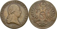 3 Kreuzer 1799 B RDR Ungarn Kremnitz Franz II./I., 1792-1835 ss  40,00 EUR  +  3,00 EUR shipping