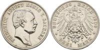 3 Mark 1909 Sachsen Dresden Friedrich August III., 1904-1918 gereinigt,... 30,00 EUR  +  3,00 EUR shipping